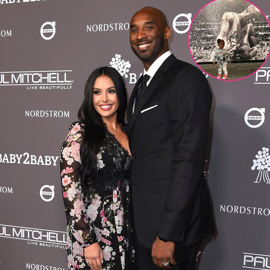 Vanessa Bryant and Her Daughters Visit Kobe Bryant Hall of Fame Exhibit