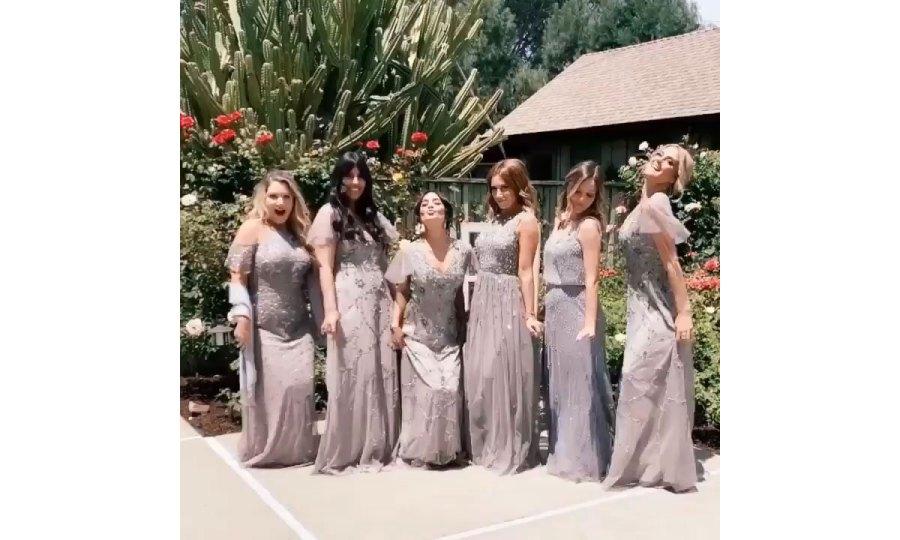 Vanessa Hudgens and Ashley Tisdale Celebrity Bridesmaids