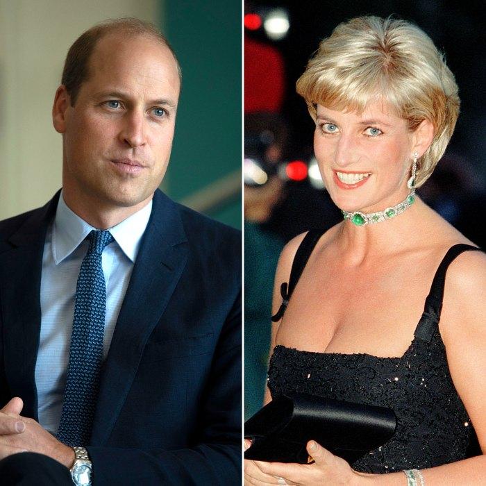 Donde el príncipe William 'encontró consuelo y consuelo' después de la muerte de la princesa Diana 'en los oscuros días del dolor'