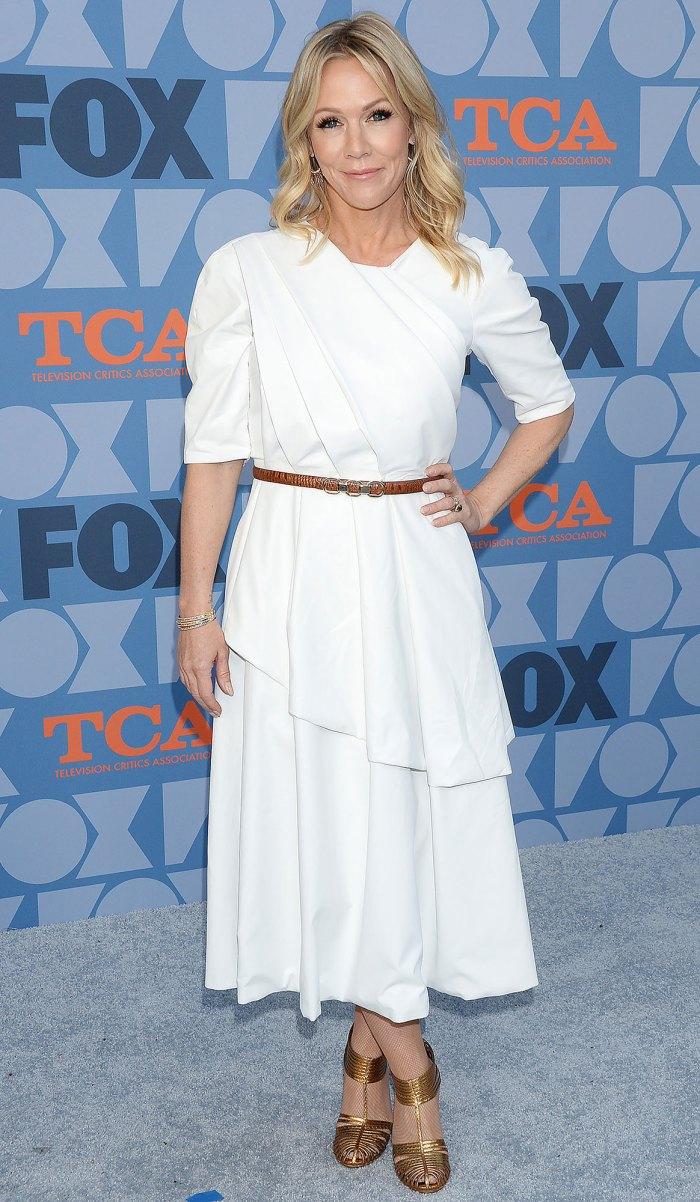Por qué Jennie Garth está nerviosa por volver a visitar a Dylan, Kelly y Brenda Love Triangle