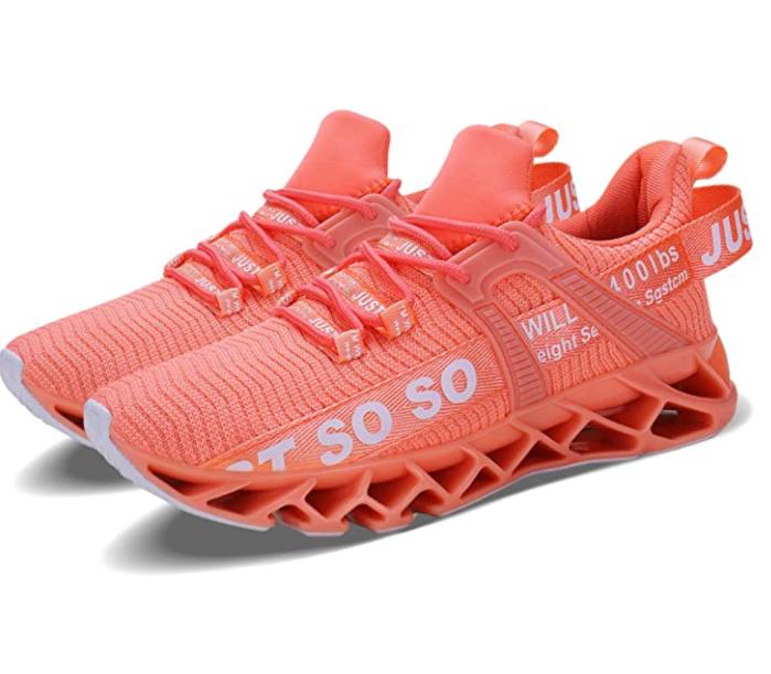 Wonesion - Zapatillas antideslizantes para mujer, para correr, correr, atléticas