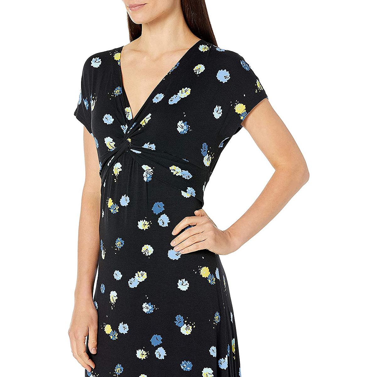 amazon-essentials-maxi-dress-floral