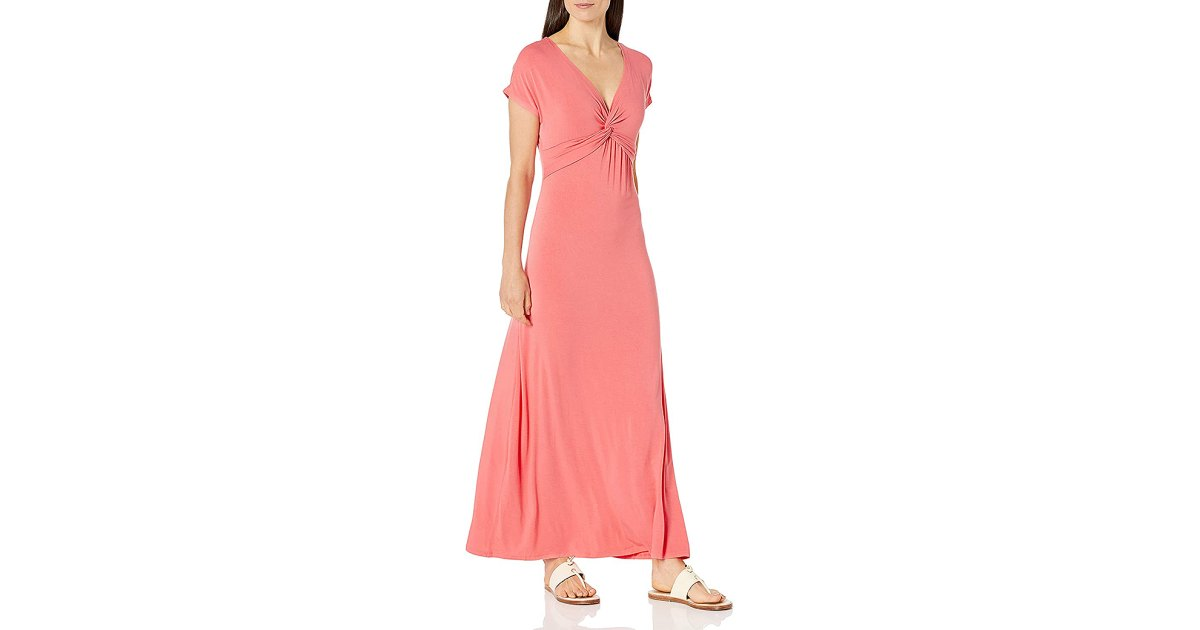 This Twist Maxi Dress Is an Easy, Comfy Way to Get Dressed Up.jpg