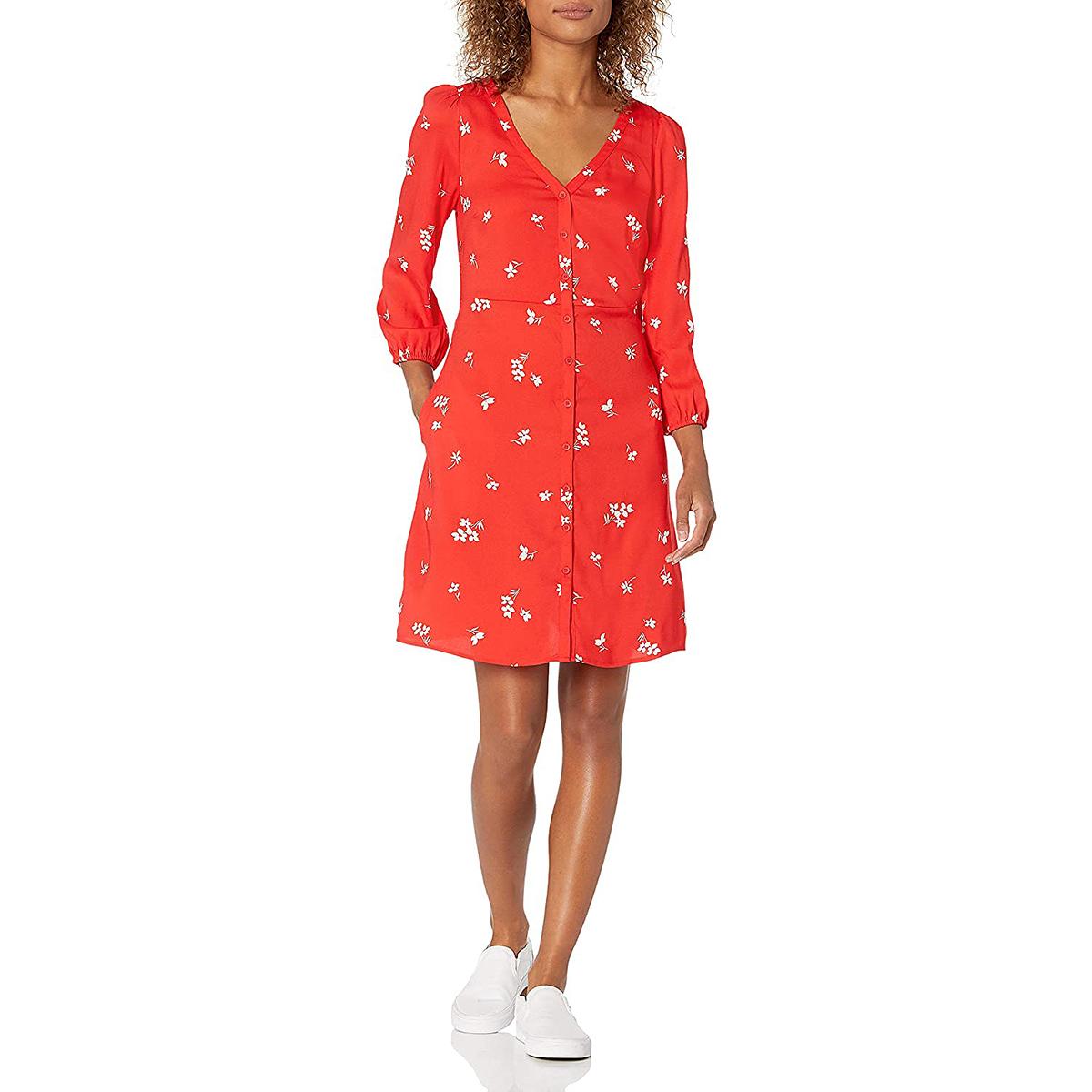 goodthreads-red-poppy-dress