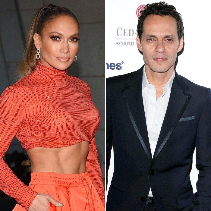 Jennifer Lopez vista con su ex Marc Anthony después de una romántica escapada a Ben Affleck