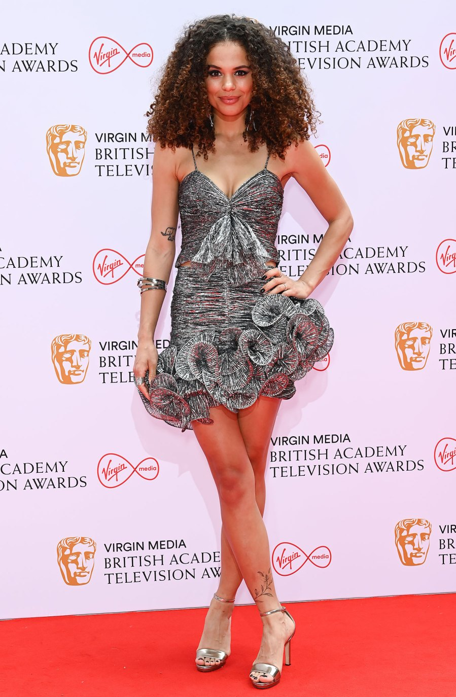 See What the Stars Wore on the 2021 BAFTA TV Awards Red Carpet