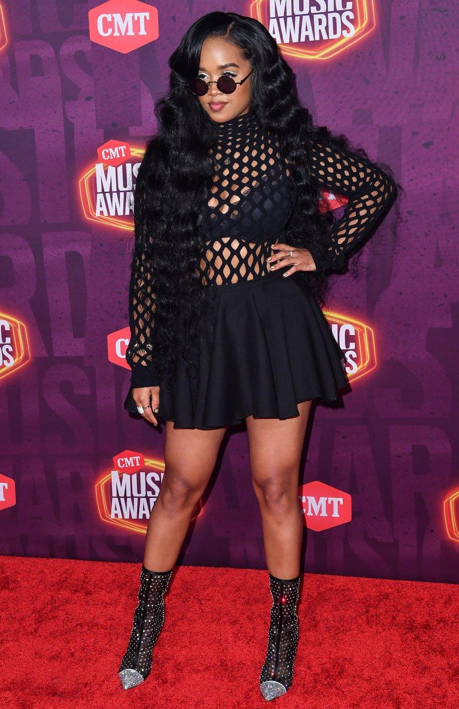 CMT Music Awards 2021 Red Carpet Arrivals - H.E.R.