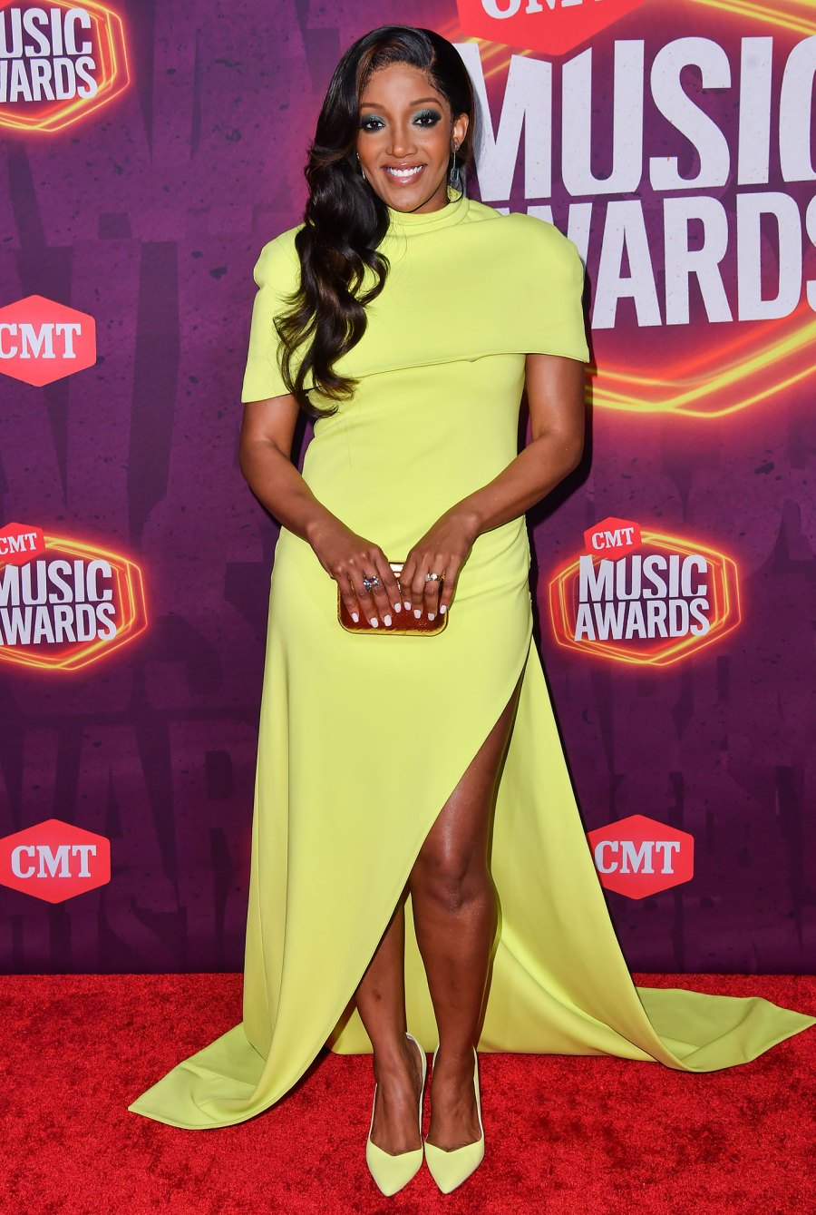CMT Music Awards 2021 Red Carpet Arrivals - Mickey Guyton