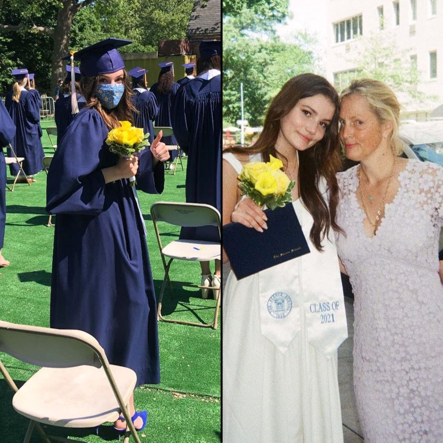 Ali Wentworth and George Stephanopolous 2021 Grads