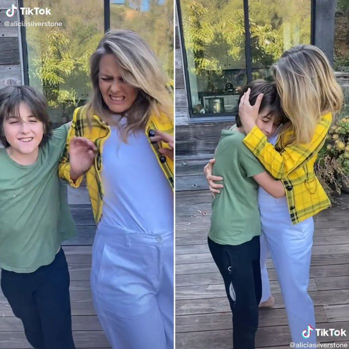 Alicia Silverstone Joins TikTok With 'Clueless' Homage and Help From Son Bear