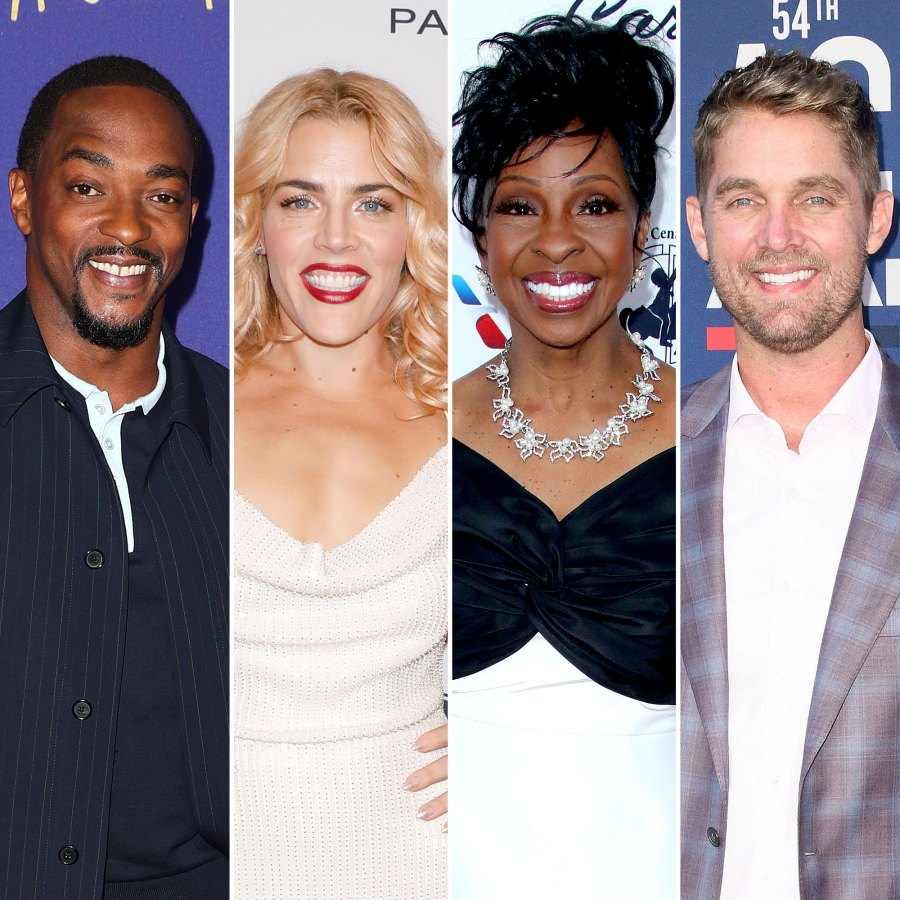 Anthony Mackie, Busy Philipps, Gladys Knight and Brett Young CMT Music Awards 2021 Presenters