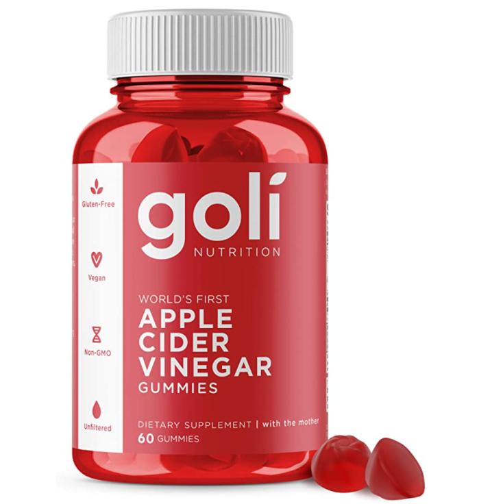 Apple Cider Vinegar Gummy Vitamins by Goli Nutrition