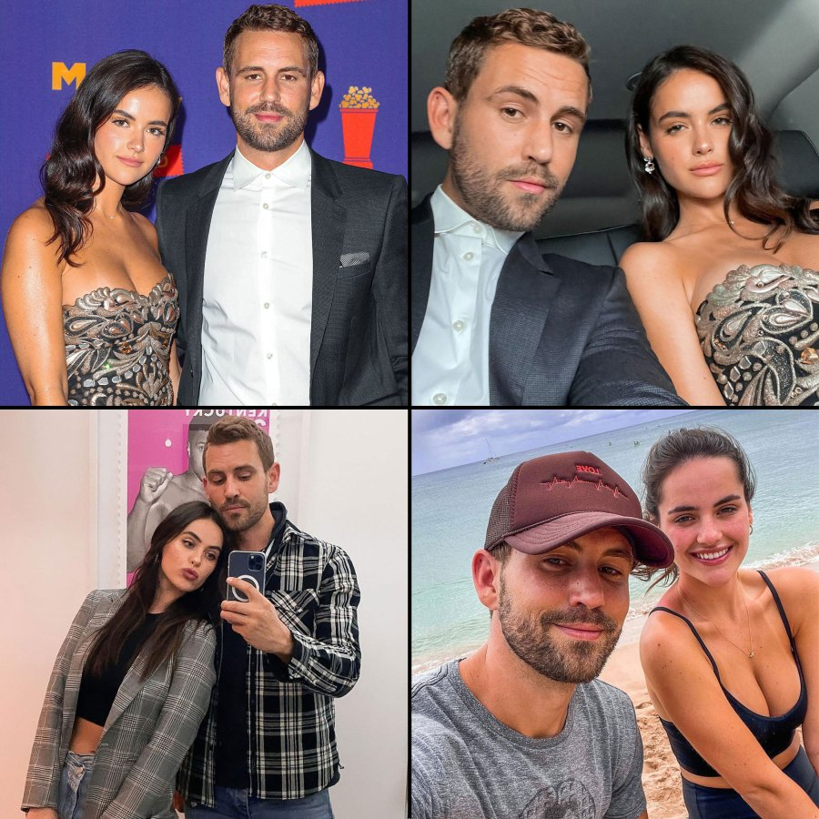 Bachelor Star Nick Viall and Natalie Joy Relationship Timeline