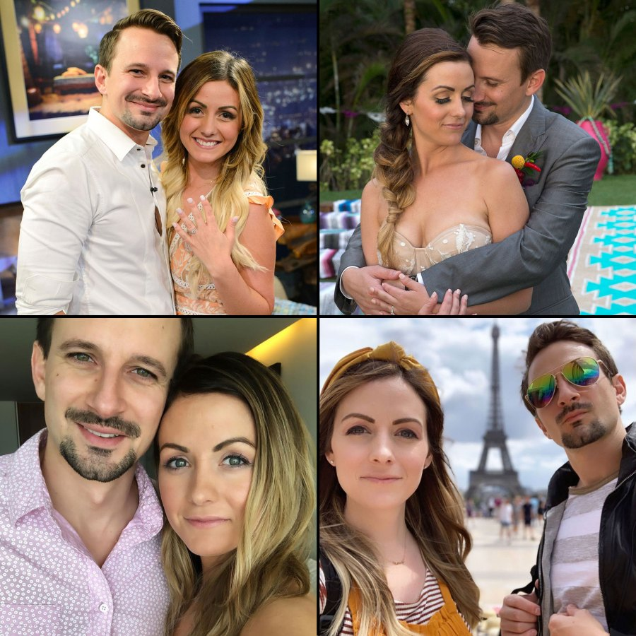 Bachelor in Paradise Carly Waddell and Evan Bass The Way They Were