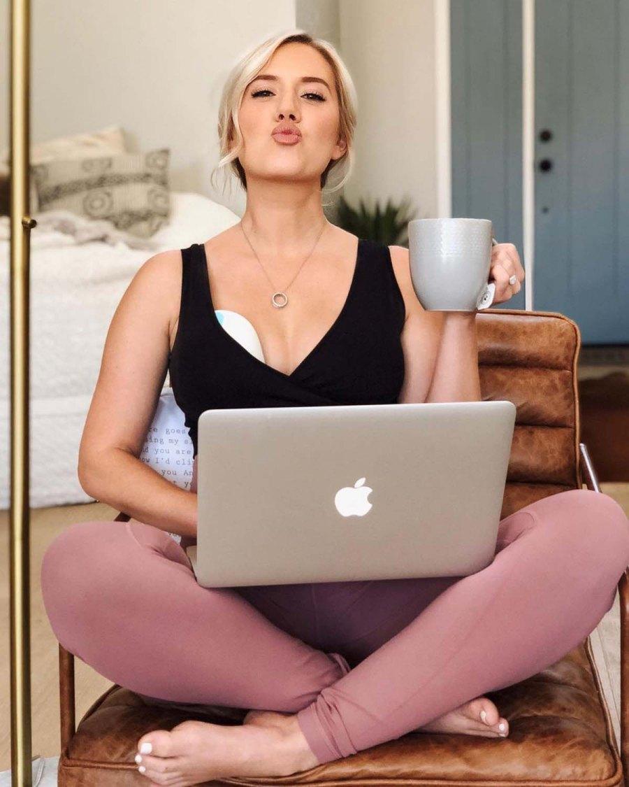 Bachelors Lauren Burnhams Breast-Feeding Pumping Pics Over Years