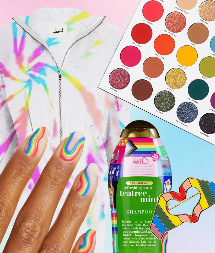 Beauty, Fashion and Lifestyle Products to Shop During Pride Month