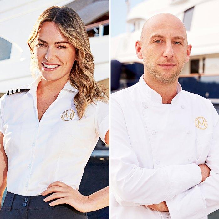 Debajo de la cubierta Mediterranean Chief Stew Katie Flood estaba enojada con la lesión del día 1 del chef Mathew Shea