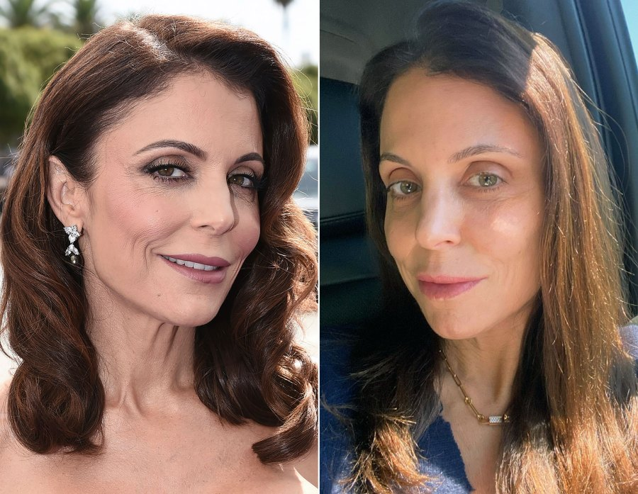 Bethenny Frankel, 50, Shares Makeup-Free Selfie: 'It's a Time for No Glam'