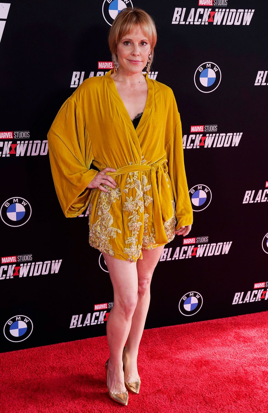 See Florence Pugh's Chic Superhero Style at 'Black Widow' Premiere