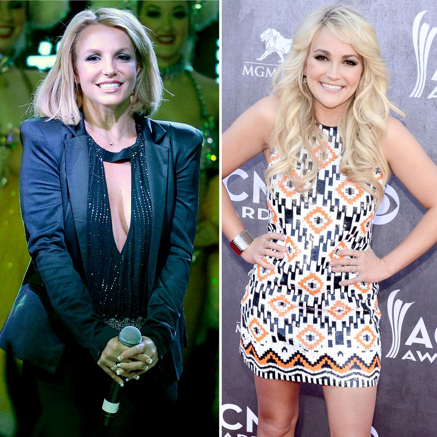 2013 Britney Spears Sister Jamie Lynns Relationship Through Years