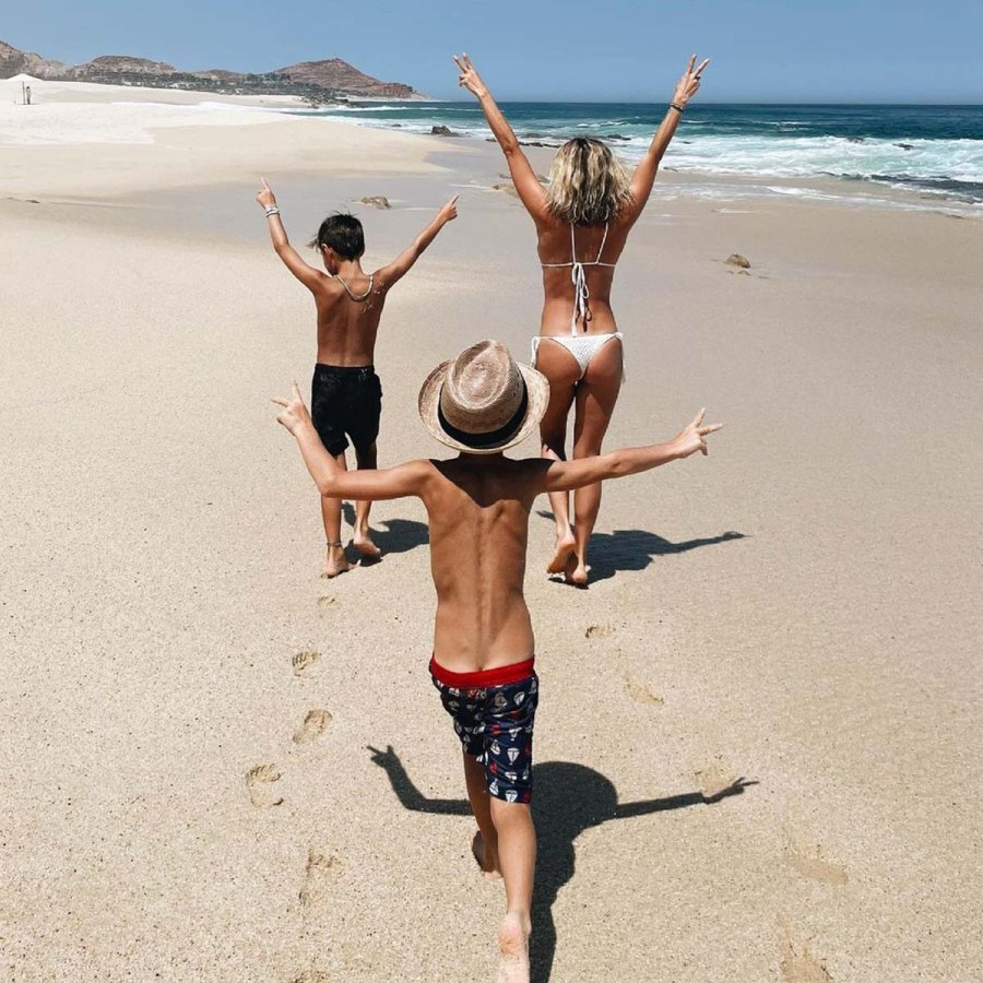Celeb Parents 2021 Summer Vacations With Their Kids Family Photos