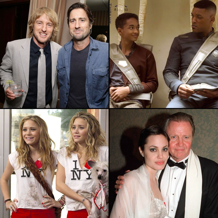 Celebrity Family Members Who Worked Together