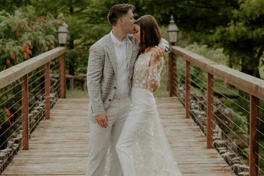 Celebrity Weddings Bella Robertson Jacob Mayo 2021