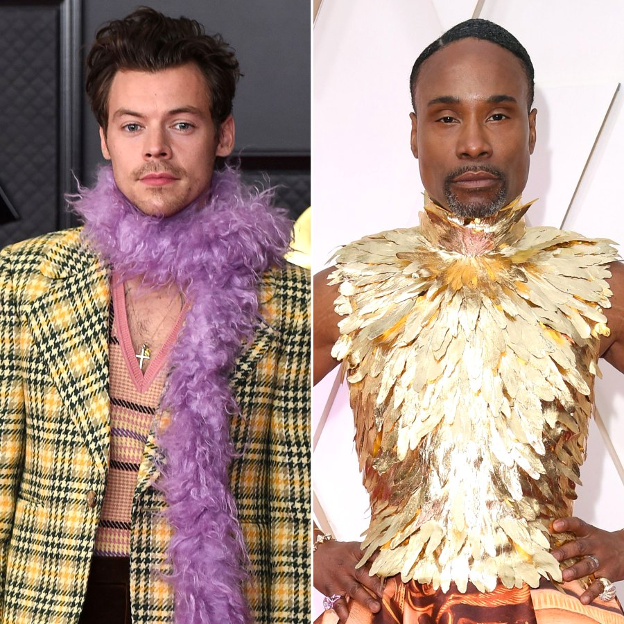 Harry Styles, Billy Porter and More Celebs Who Proudly Challenge Gender Norms
