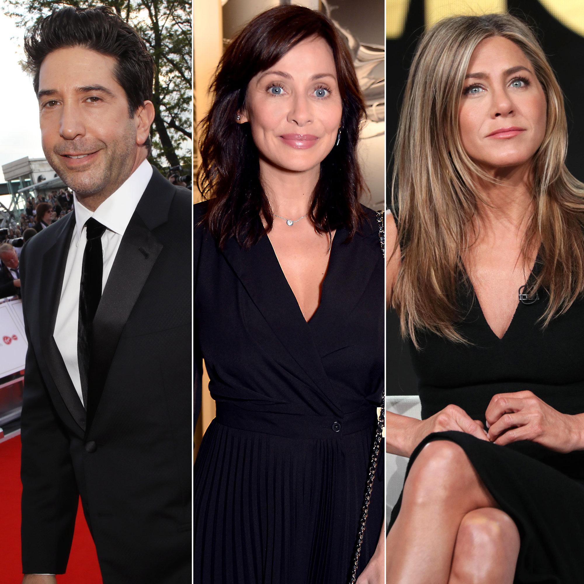 David Schwimmer's Ex Natalie Imbruglia Reacts to His Jennifer Aniston 'Crush'