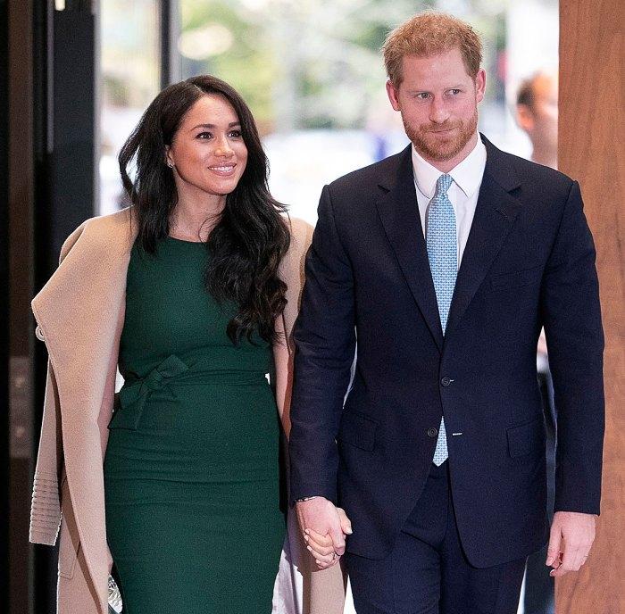 La corona Emma Corrin dice que es estresante pensar en el príncipe Harry Meghan Markle