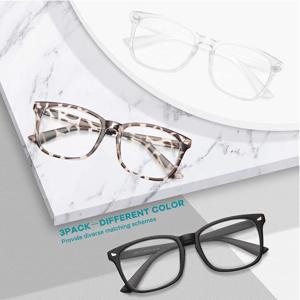Gaoye 3-Pack Blue Light Blocking Glasses