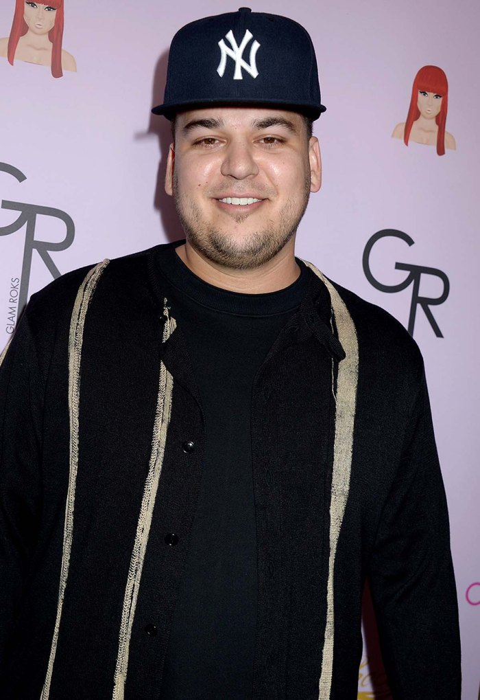 Getting Back Out There Rob Kardashian Is Dating After Working Himself
