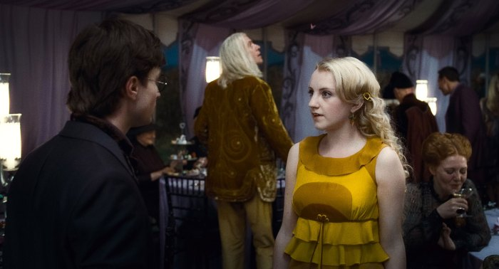 Harry Potter Evanna Lynch Intimidated by Daniel Radcliffe Emma Watson and Rupert Grint 3