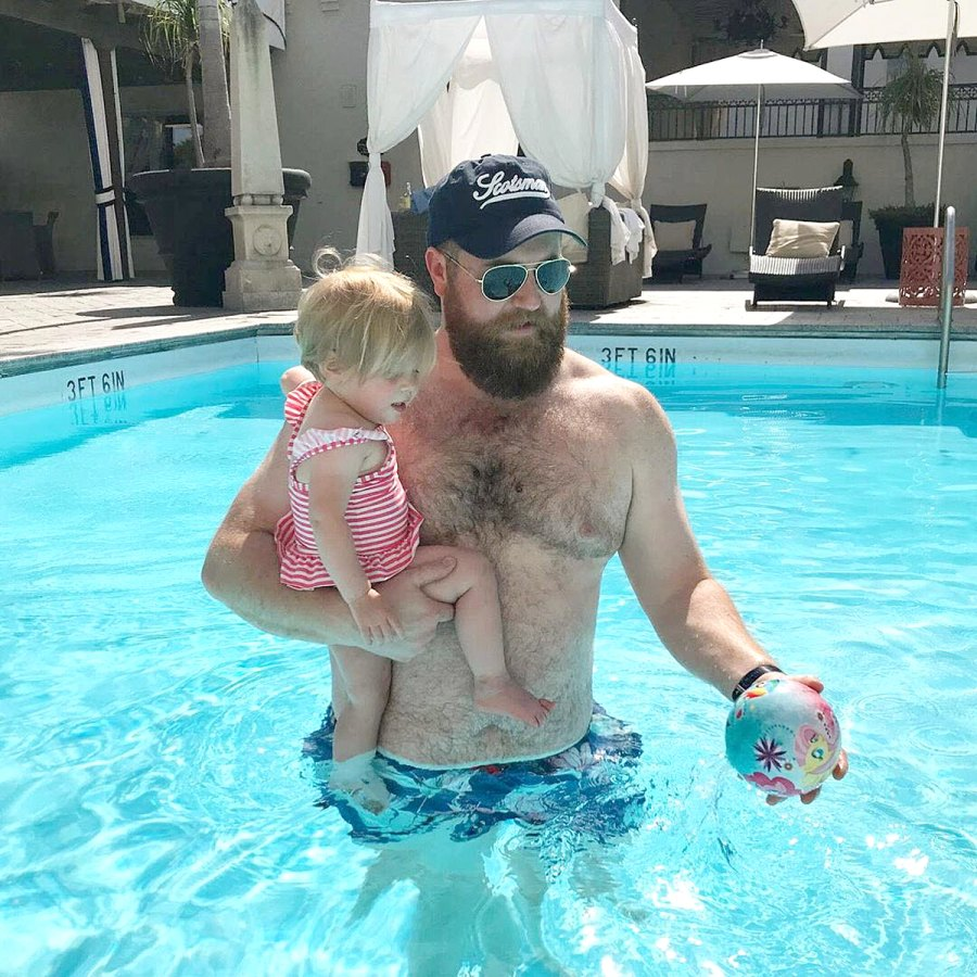 Pool Play Home Town Erin Napier Ben Napier Family Album With Daughter