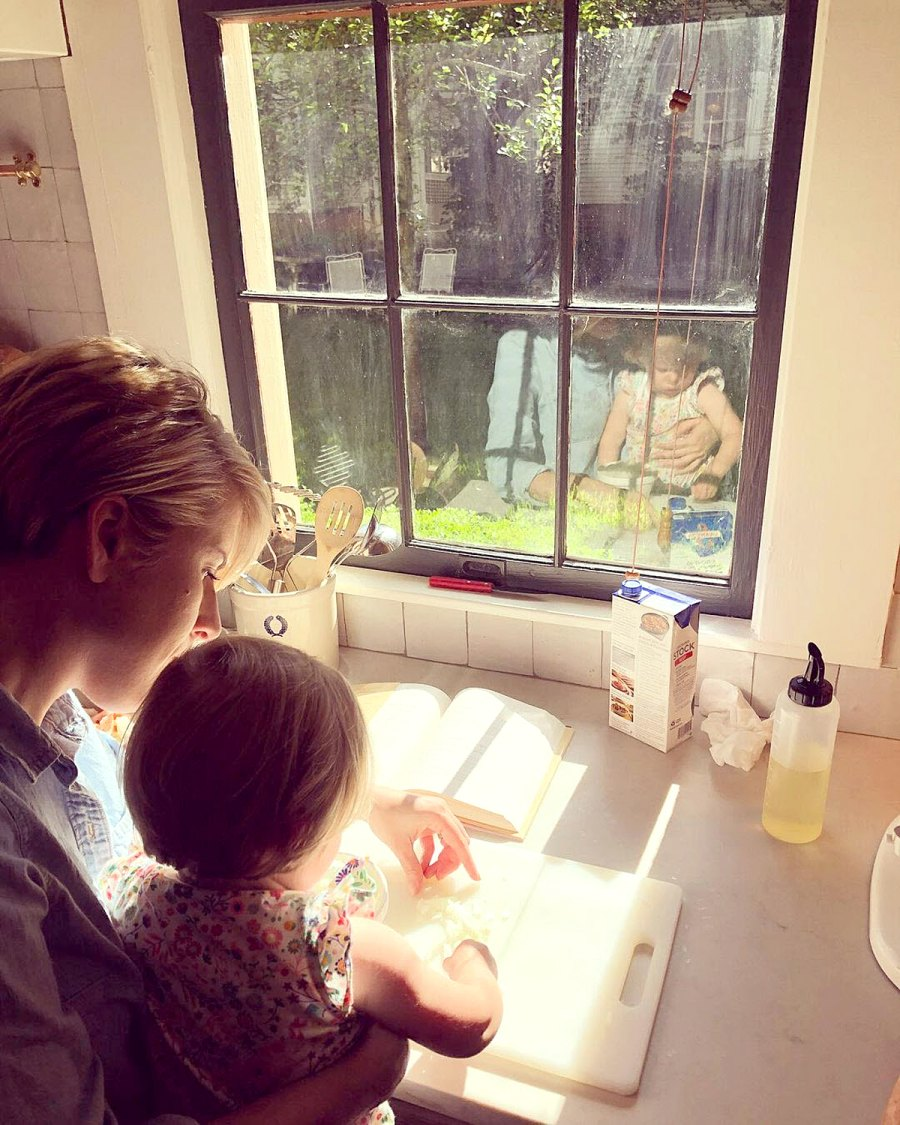 Kitchen Cuties Home Town Erin Napier Ben Napier Family Album With Daughter