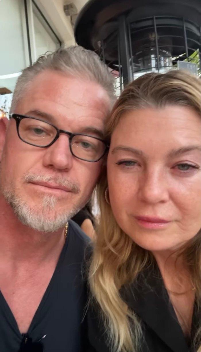 Ellen Pompeo and Eric Dane at Grey's Anatomy Reunion