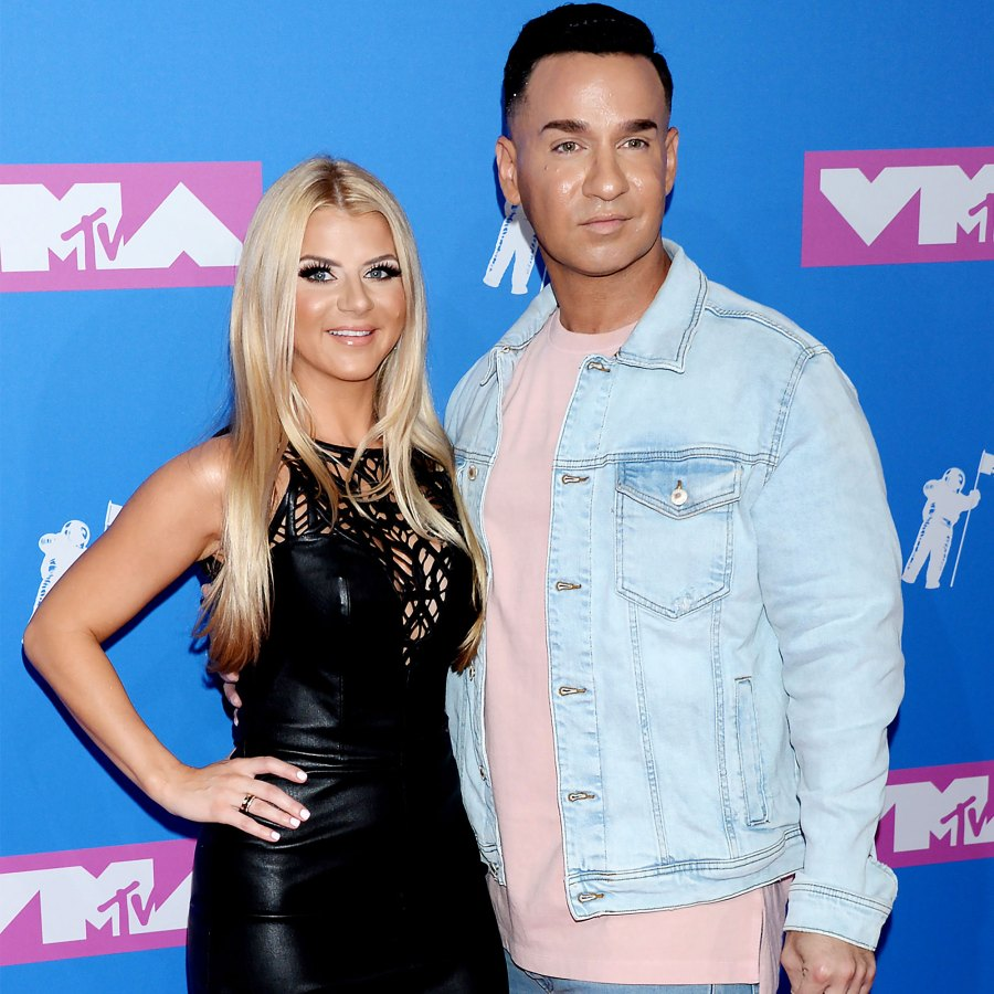 Inside Mike The Situation Sorrentino Lauren Sorrentinos Son Romeos Nursery Photos