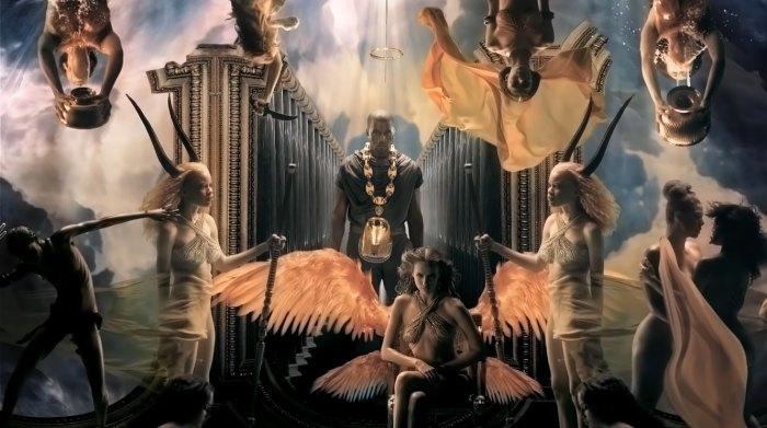 Irina Shayk apareció en el video musical 'Power' de Kanye West en 2010 antes del romance
