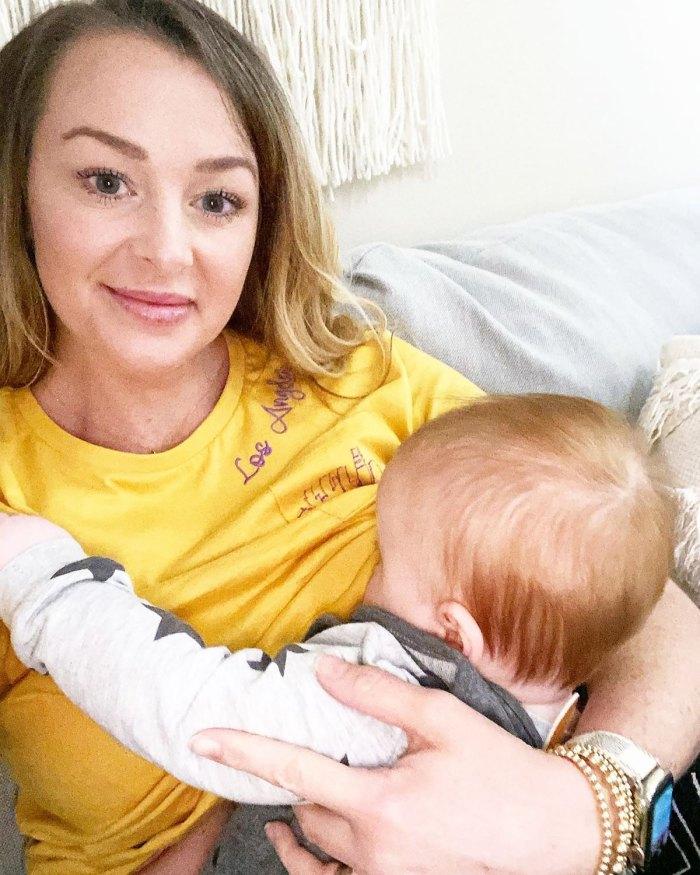 Jamie Otis defiende a Hendrix, un hijo de 12 meses que amamanta: Detengamos la lactancia 'hiper-sexualizadora'
