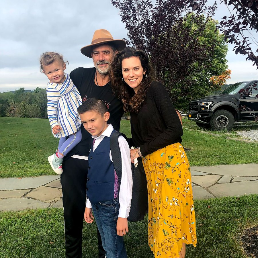 Jeffrey Dean Morgan Hilarie Burtons Sweetest Moments With Their Kids Over Years