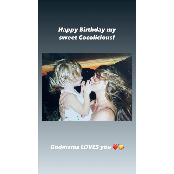 Jennifer Aniston celebra el 17 cumpleaños de la hija de Courteney Cox Coco 1
