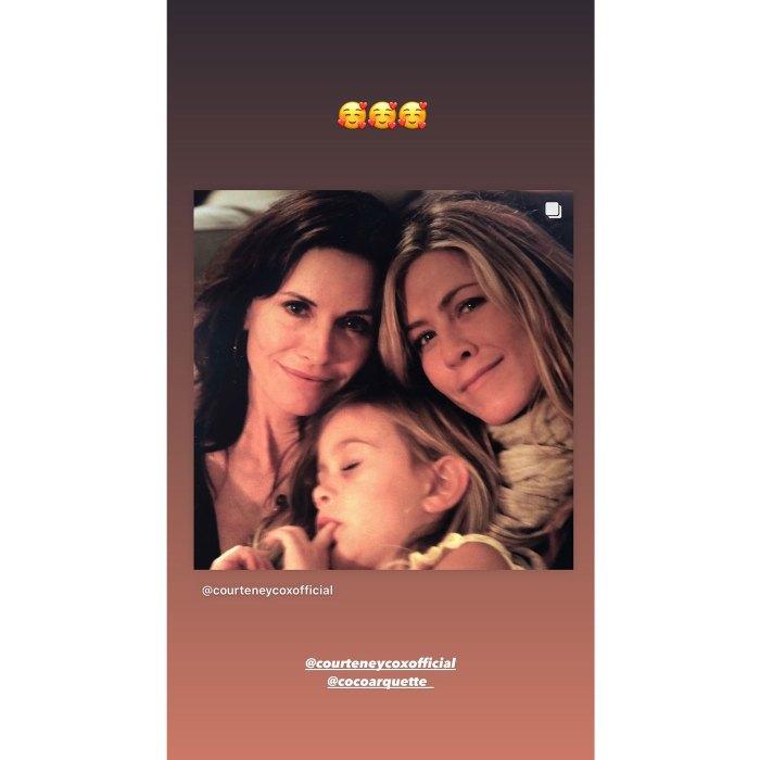 Jennifer Aniston celebra el 17 cumpleaños de la hija de Courteney Cox Coco 2