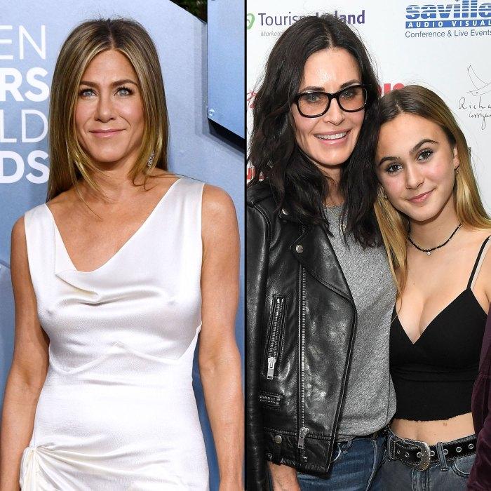 Jennifer Aniston celebra el cumpleaños número 17 de Coco, la hija de Courteney Cox