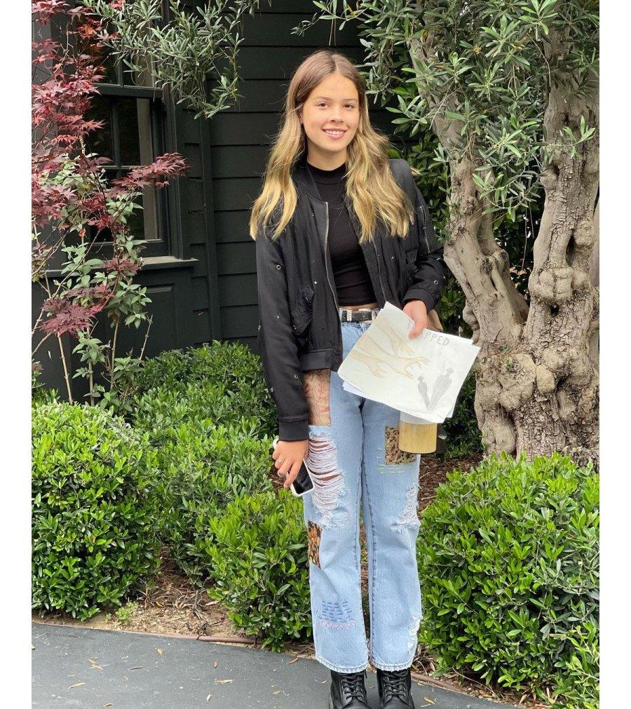 Jessica Alba Celebrates Daughter Honor 13th Birthday 4