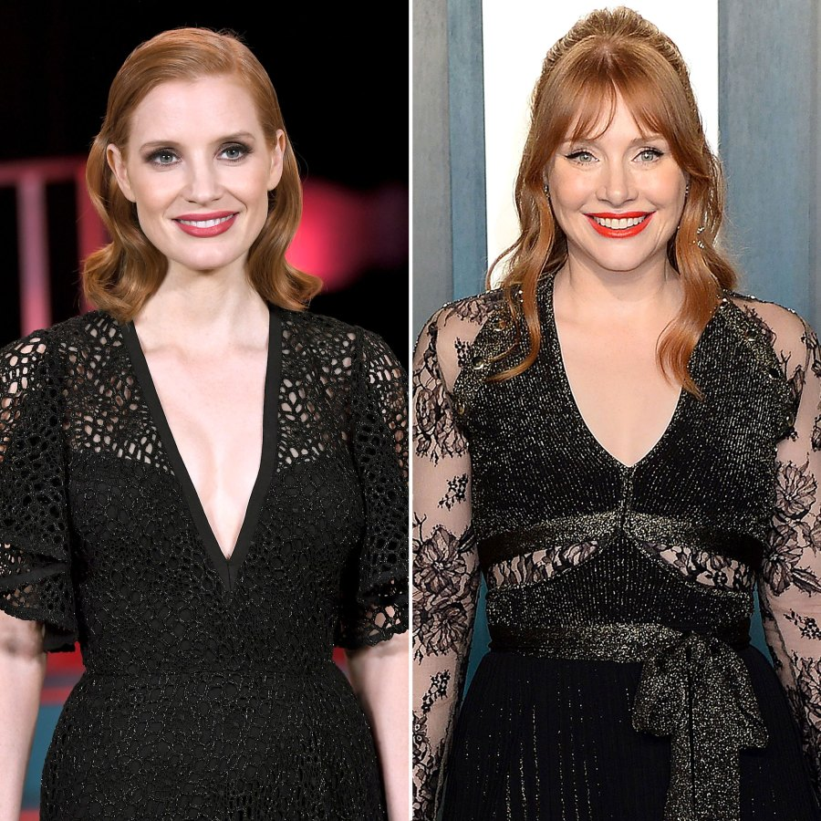 Jessica Chastain Mistaken For Bryce Dallas Howard