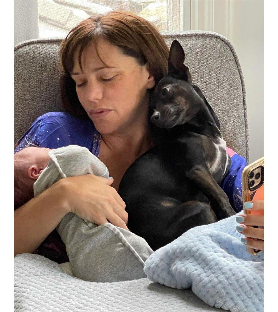 Jessica Sutta Gives Birth