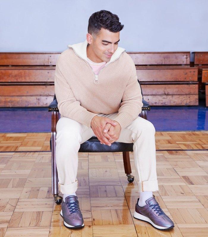 Joe Jonas' 'Retro-Futuristic' Sneaker Drop Is Serving 'Year 3000' Vibes