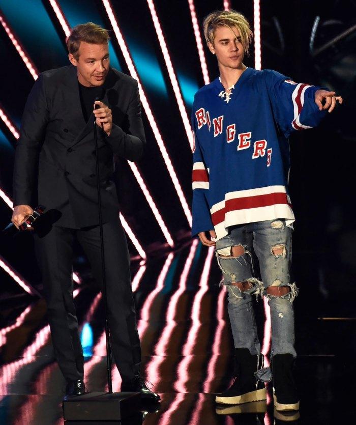 Justin Bieber le hizo una broma a Diplo en un TikTok viral