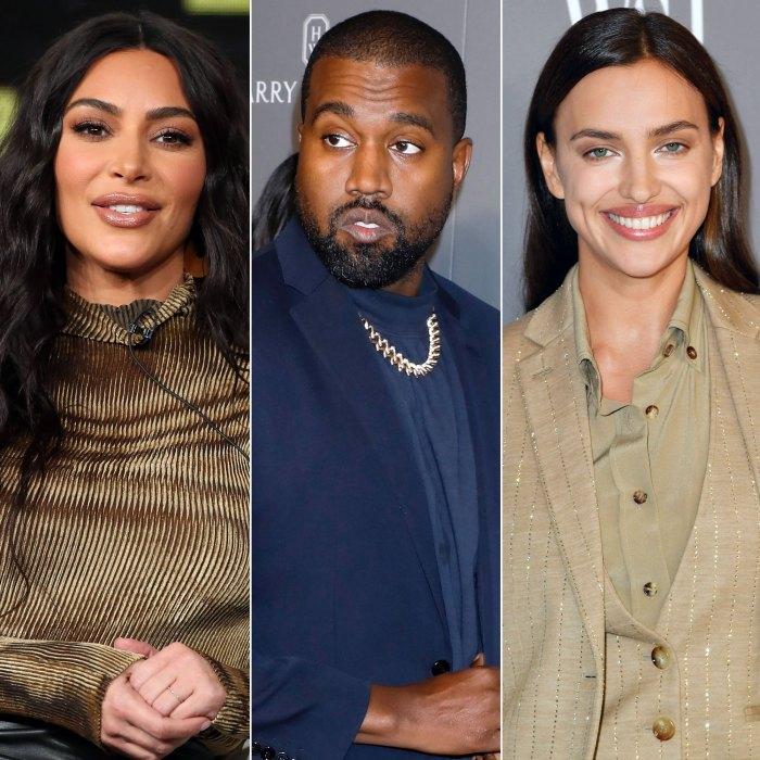 Kim Kardashian ha conocido a la nueva dama Irina de Kanye 'varias veces' a lo largo de los años