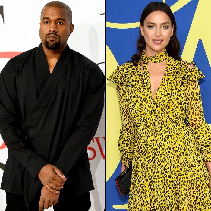 Kanye West Irina Shayk están en citas en la fase de luna de miel